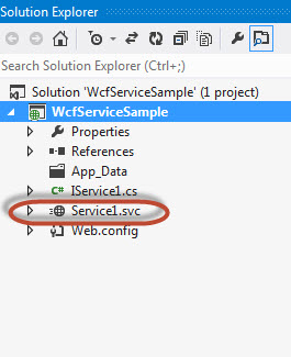 Diff between WCF Service library and WCF Application 3